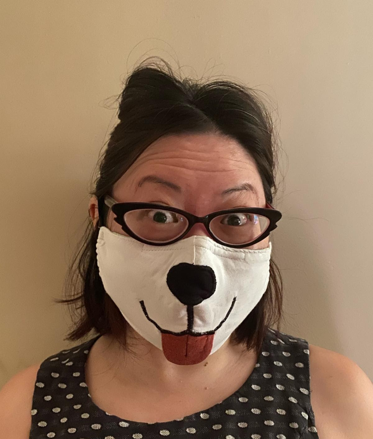 Fanny Mac, First Place Winner of the NEW Women's Business Center Face Mask Contest