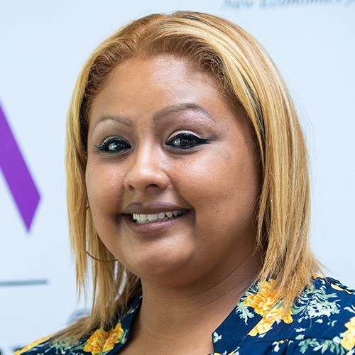 Irene Vazquez, Program Coordinator at the NEW Women's Business Center