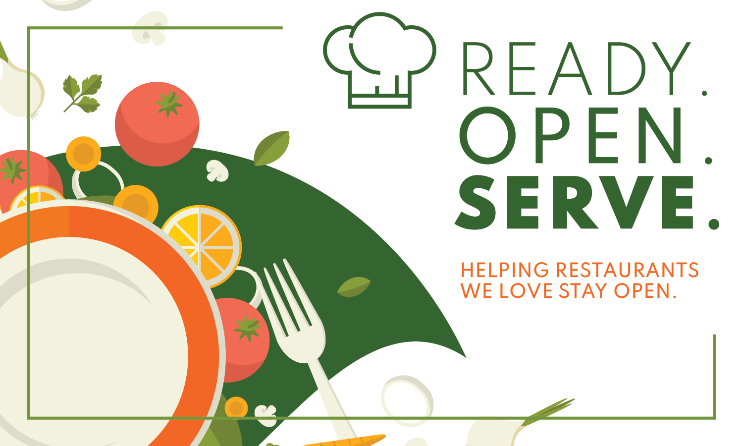 Ready. Open. Serve. A new restaurant support program in Los Angeles.