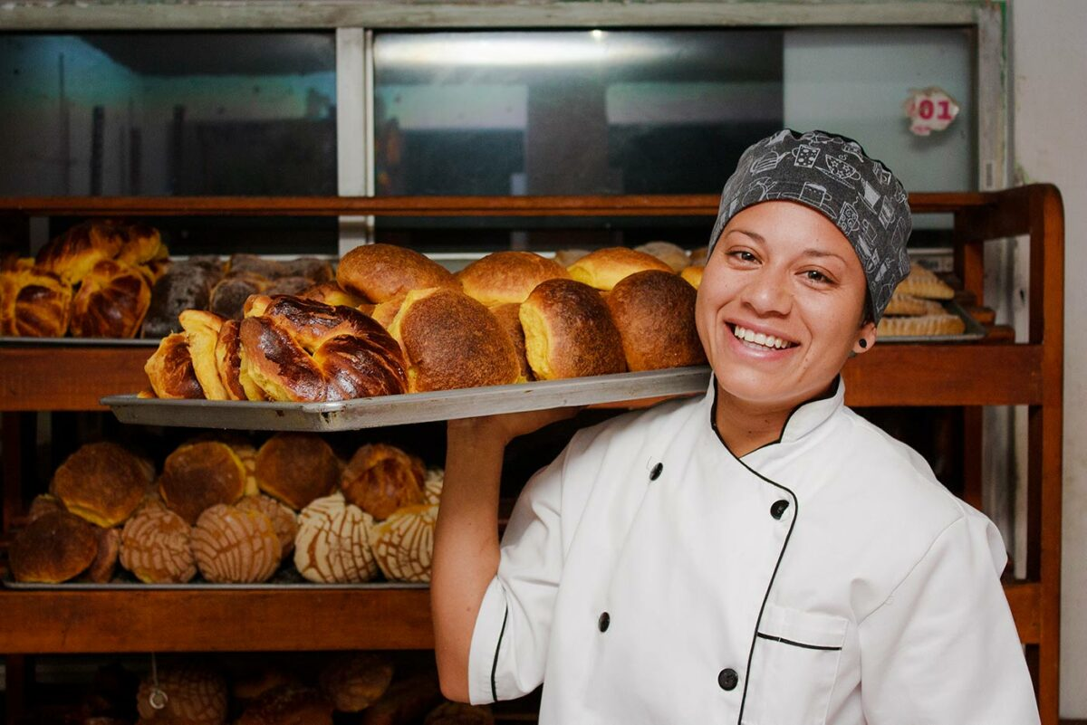 Small business restaurant owner supported by Wells Fargo NEW-WBC grant